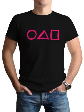 Circle Triangle Square Squid Game Icons T-Shirt