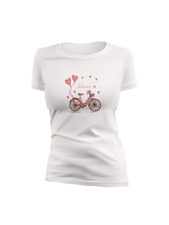 Believe Printed T-Shirt For Women